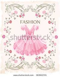hand drawn portrait romantic vintage stock vector 485197867
