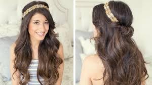 Partyfrisuren Lange Haare Offen by Frisuren Mit Haarband 30 Ideen Für Einen Romantischen Look