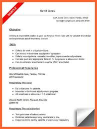respiratory therapist resume exles 11 12 respiratory therapist resume resumesgood