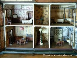 Dolls House Kitchen Furniture Kt Miniatures U2013 Antique U0026 Vintage Dolls Houses Plus Vintage Style