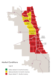 Chicago Neighborhoods Map Chicago Housing Is Clearly In A Buyers U0027 Market U2013 Yochicago