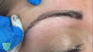 New Eyebrow Tattoo Technique Microblading Technique For Permanent Eyebrows Youtube