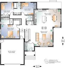 open floor plans with large kitchens w3260 v3 craftsman house plan large kitchen island central