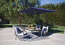 Side Patio Umbrella Outdoor 10 Foot Offset Patio Umbrella Off Side Umbrella Tilting