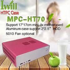 Case For Home Theater Pc by 2017 Selling Pure Aluminum Ultra Thin Horizontal Computer Mini