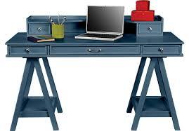 Blue Computer Desk Cottage Color Alternate S Blue Desk Hutch