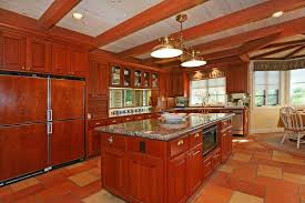 cherry cabinets with light granite countertops 25 cherry wood kitchens cabinet designs ideas designing idea