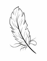 feather coloring page wwwpavingmaze feather coloring page in new