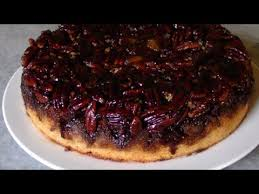 pecan praline upside down cake youtube