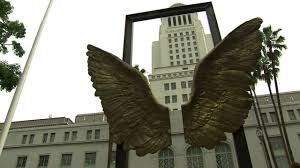 city hall denver halloween mexico city gives los angeles bronze wings sculpture abc7 com
