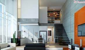 living room escalera wonderful open plan living space with