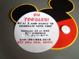 diy invitations templates mickey mouse diy invitations template 2nd birthday invitation