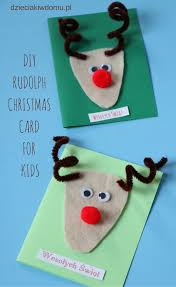 Diy Christmas Card For Kids Christmas Crafts And Activities