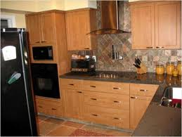 Kitchen Backsplash Design Tool by Backsplashes With Oak Cabinets Home Improvement Design And