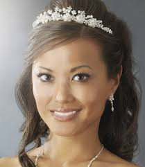 bridal tiaras tiara wedding hairstyles ideas for brides hairzstyle