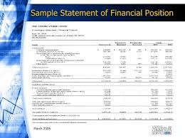Financial Statement Template For Non Profit Organization by Reading And Understanding Financial Statements Ppt