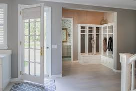 Mudroom Entryway Ideas Tiled Mudroom Houzz
