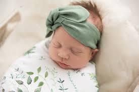 top knot headband mustard topknot baby headband infant topknot