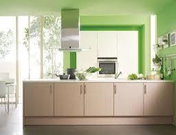 Green Kitchen Island Contemporary Kitchen With Green Decoration And Modular Kitchen
