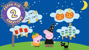 peppa pig creations halloween activities