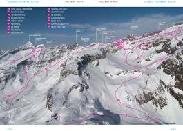 Piste Maps For Italian Ski by Off Piste Skiing In Italy Alagna Free Ride Monte Rosa