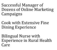 Marketing Resume Headline Example Of Resume Title