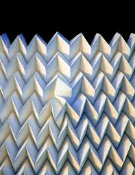 Origami Tessalation - origami robotics here s how to fold your own metamaterial at home
