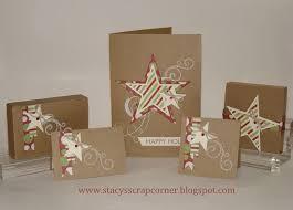 brown christmas cards s scrap corner krafty christmas cards