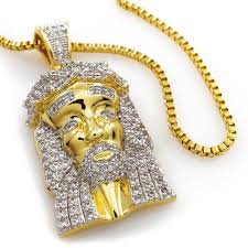 jesus piece necklace images Shop jesus piece pendants on sale free chain included niv 39 s bling jpg