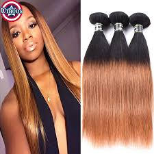 ombre weave ombre hair 1b 30 human hair extensions