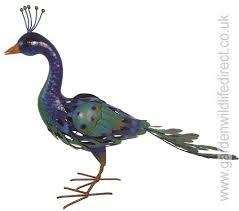 cockerel garden bird metal ornament