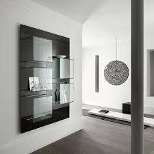 How To Decorate Living Room Walls by Glass Wall Unit For Living Room Cool Design Of Wall Units For