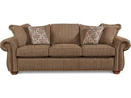 Couch Sizes by La Z Boy Wales Traditional Sofa With Rolled Arms And Two Sizes Of
