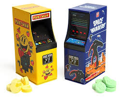 Candy Cabinet Pac Man U0026 Space Invaders Candy Cabinets Retrogaming