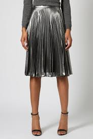 pleated skirt best 25 metallic pleated skirt ideas on metallic