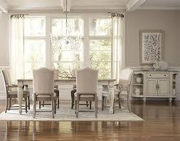 incredible ideas off white dining table warm driftwood finishes