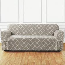 sure fit lattice box cushion sofa slipcover u0026 reviews wayfair