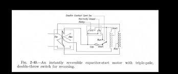instant reversing motor