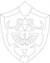 hylian shield from the legend of zelda backpack obsidian u0027s