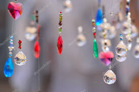 hanging crystals hanging crystals background or wallpaper stock photo umdash9