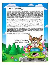 easter bunny letter letter idea 2018