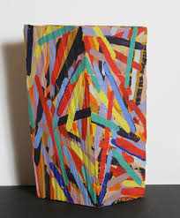 charles arnoldi painted wood sculpture