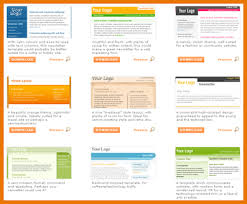 newsletter templates free word free email newsletter templates for
