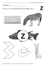 letter z phonics activities and printable teaching resources