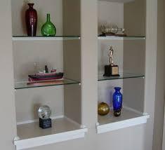 inset wall niches 2 to match decorative cutout shelves wall niche
