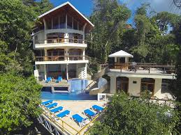 Two Story Deck Luxury Villa Spectacular Views Monkeys Homeaway Manuel Antonio