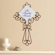 wall decor walmart com personalized god bless wrought iron cross