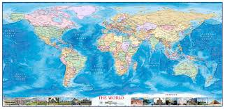 World Political Map by World Political Wall Map By Compart Maps