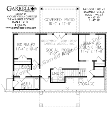 annalise cottage house plan house plans by garrell associates inc