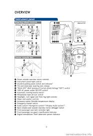 toyota 4runner 2013 n280 5 g quick reference guide